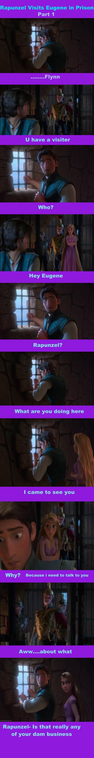 Rapunzel visits Eugene Part 1