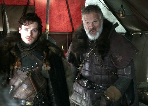 Robb Stark and Greatjon Umber