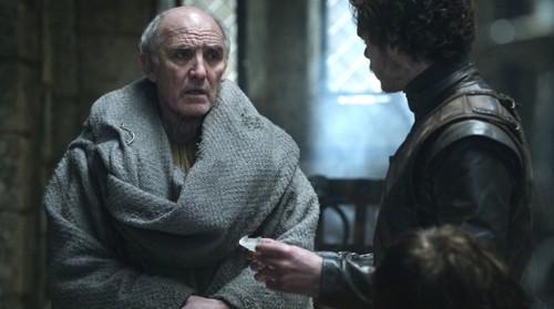Robb Stark and Luwin