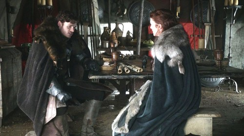 Robb and Catelyn Stark