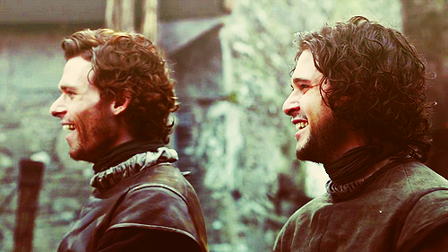 Jon Snow and Robb Stark wallpaper titled Robb and Jon