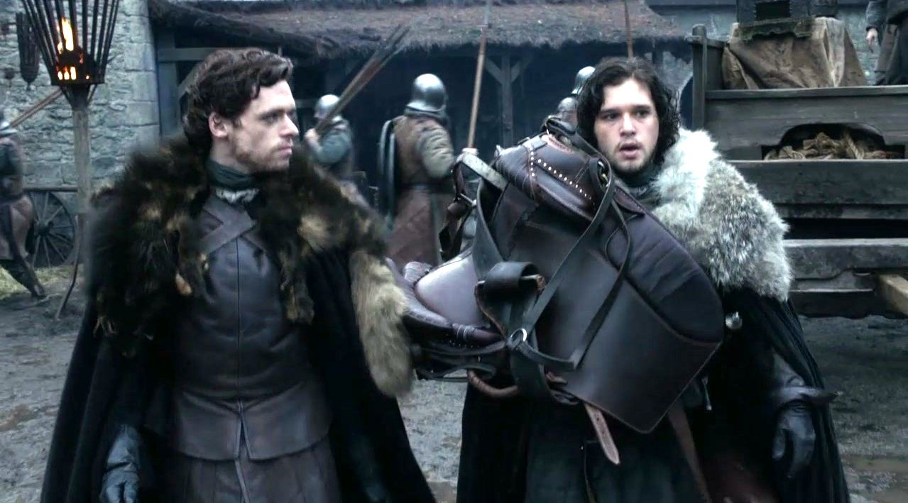 Image result for jon snow and robb stark