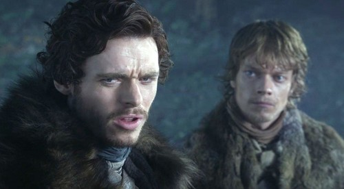 Robb and Theon