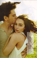 Emilia Clarke & Kit Harington- Rolling Stone Magazine - game-of-thrones photo