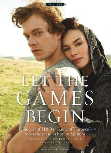 Rolling Stone (RS Style: Game Of Thrones Edition) - lena-headey Photo