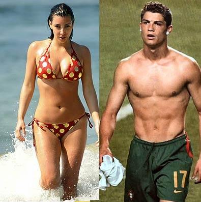 Ronaldo and Kardashian