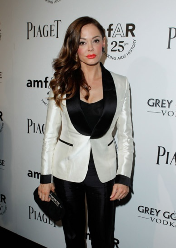 Rose - 2011 amfAR Inspiration Gala, LA, October 27, 2011