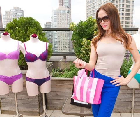 Rose - Victoria's Secret Fashion Week Suite, September 14, 2011