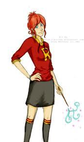 The New Generation of Harry Potter 바탕화면 possibly containing hosiery and a hip boot titled Rose Weasley Fanart