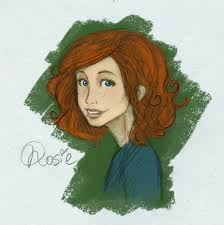The New Generation of Harry Potter Обои possibly with a portrait called Rose Weasley Fanart