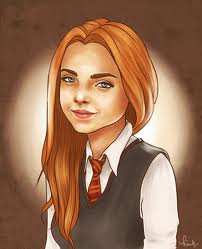 The New Generation of Harry Potter Обои with a portrait entitled Rose Weasley Fanart