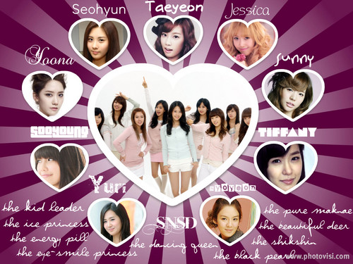 SNSD Collage