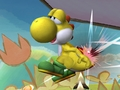 Yellow Yoshi - SSBB - yoshi screencap