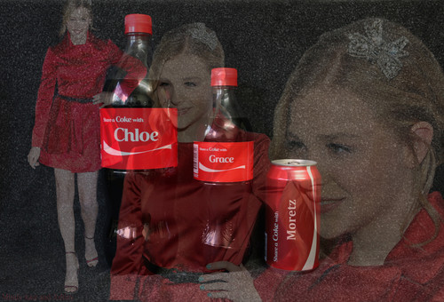 Share a coca-cola with Chloe Grace Moretz
