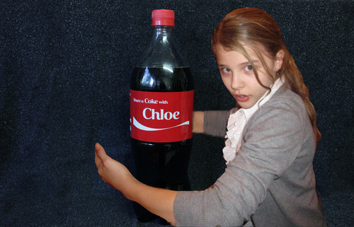 Share a Coke with Chloe ! - chloe-moretz Fan Art