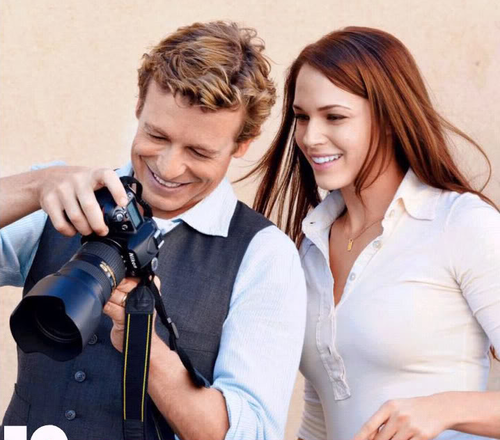 Simon & Amanda - Simon Baker Photo (29510581) - Fanpop Amanda Righetti Husband