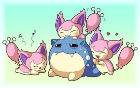 Skitty and Spheal