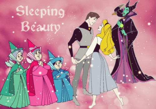 Disney Princess wallpaper probably containing anime called Sleeping Beauty