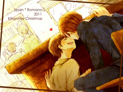 Spain x romano spain x romano spamano fan art 29508015 fanpop