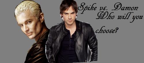 Spike vs. Damon