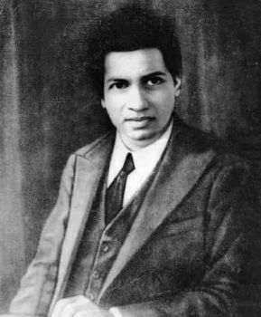 Srīnivāsa Rāmānujan (22 December 1887 – 26 April 1920