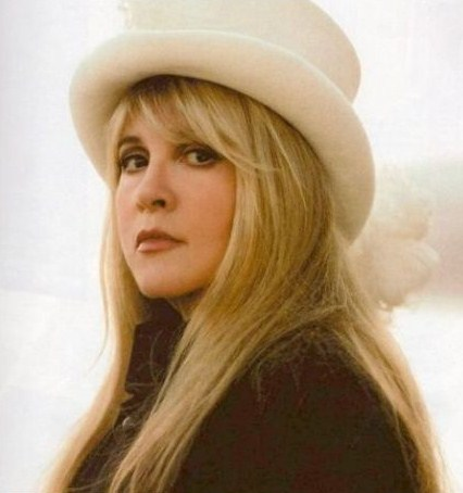 Stevie Nicks wallpaper with a snap brim hat, a campaign hat, and a beaver titled Stevie In A Top Hat