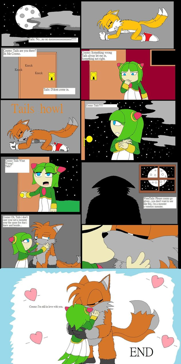 Tails and Cosmo comic