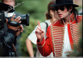 Take one more photo and im going to thriller on yo ass lol - michael-jackson photo