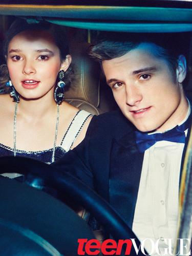 Teen Vogue photoshoot