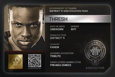 Thresh & Rue wallpaper called The Hunger Games