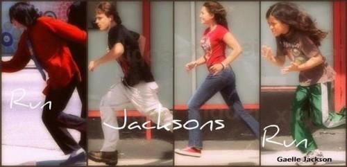 The Jackson's run
