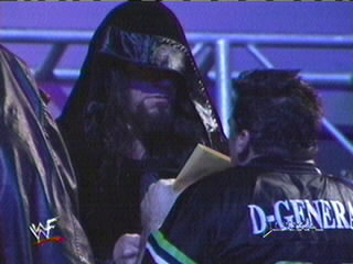 The Ministry abducts Shane McMahon, 1999