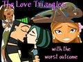 The Worst Outcome For Love Triangles (Includes Total Drama and Stoked) - duncan-and-courtney fan art