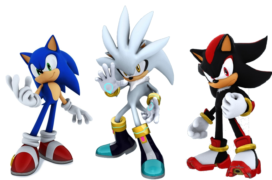 Thunderjix - Sonic, Shadow, and Silver Photo (29591448) - Fanpop