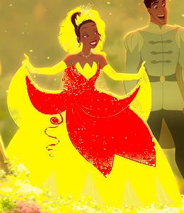 Tiana's new wedding dress