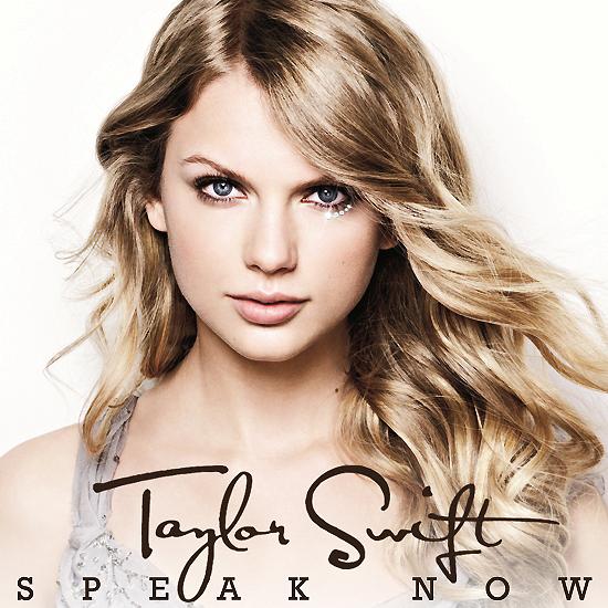 Taylor Swift Speak Now Album Cover