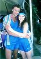 Tristan Rogers and Finola Hughes
