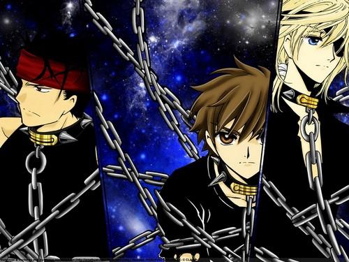 Tsubasa: Reservoir Chronicles karatasi la kupamba ukuta containing anime entitled Tsubasa RESERVoir CHRoNiCLE