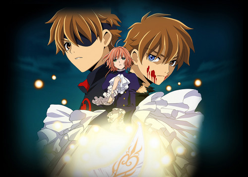 Tsubasa: Reservoir Chronicles karatasi la kupamba ukuta with a bouquet entitled Tsubasa RESERVoir CHRoNiCLE