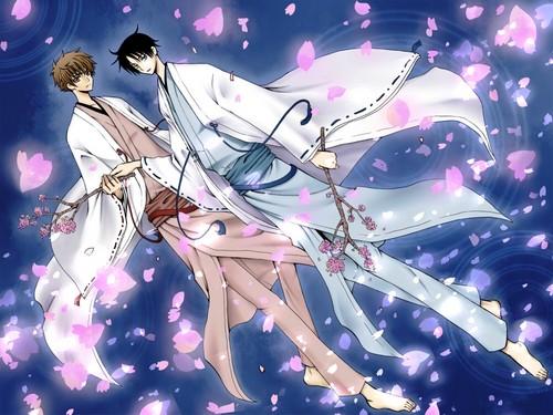 Tsubasa: Reservoir Chronicles karatasi la kupamba ukuta called Tsubasa RESERVoir CHRoNiCLE