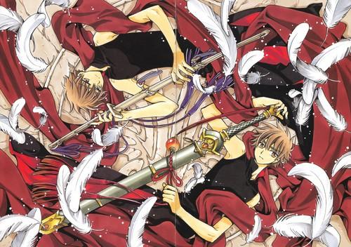 Tsubasa: Reservoir Chronicles wallpaper containing anime titled Tsubasa RESERVoir CHRoNiCLE