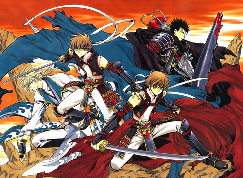 Tsubasa: Reservoir Chronicles karatasi la kupamba ukuta with anime titled Tsubasa RESERVoir CHRoNiCLE