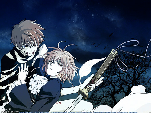 Tsubasa: Reservoir Chronicles karatasi la kupamba ukuta possibly with anime called Tsubasa RESERVoir CHRoNiCLE