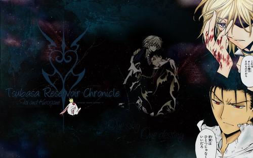 Tsubasa: Reservoir Chronicles karatasi la kupamba ukuta with anime called Tsubasa RESERVoir CHRoNiCLE