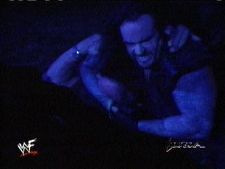 Undertaker attacks Stone Cold