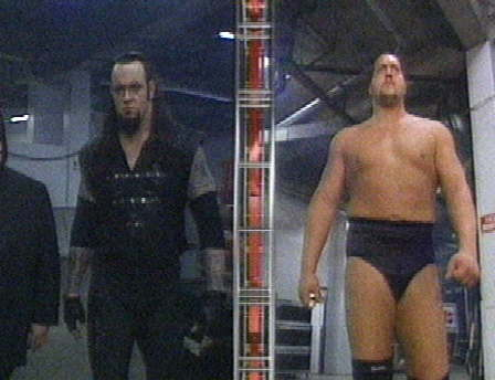 Undertaker goes against The Big toon