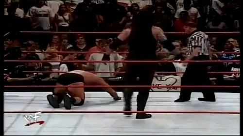 "Undertaker vs Stone Cold: First Blood ""End of an Era"" for the WWF Championship"