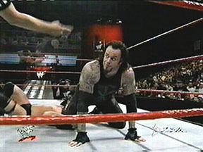 Undertaker wallpaper probably containing a gymnast titled Undertaker vs Stone Cold: WWF Championship