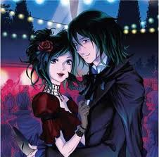 Vampire Kisses Манга Cover 3