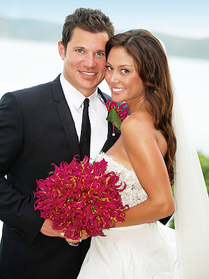 Vanessa Minnillo and Nick Lachey wedding चित्र